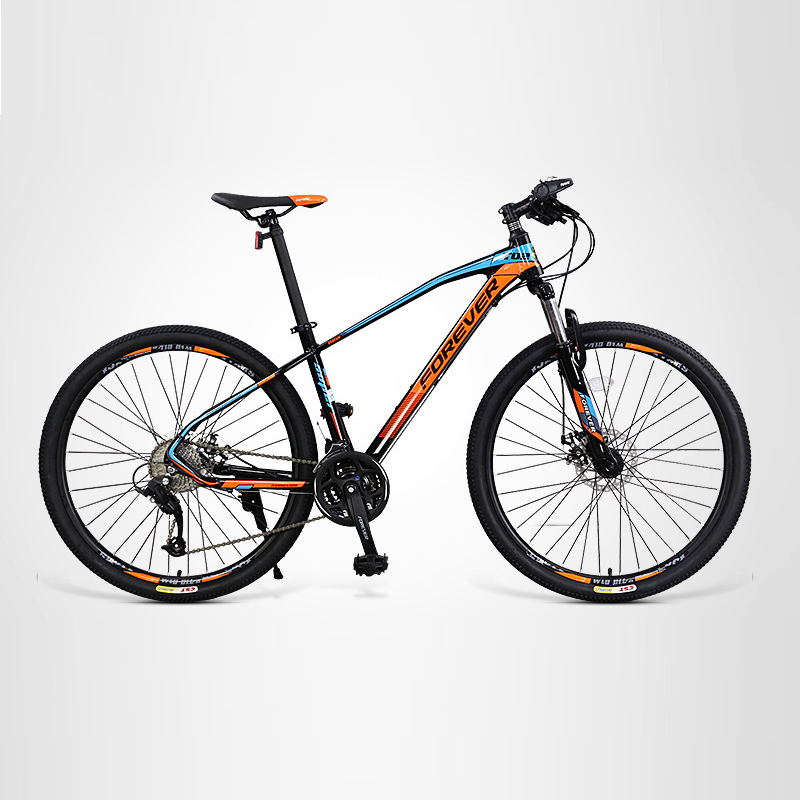 Mountain Bike Variable Speed Male Off-Road Aluminum Alloy Double Shock Absorption Students Cycling Teenagers.