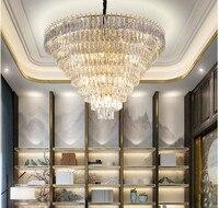Free Shipping Modern Crystal Pendant Lamp Clear Light AC90V 240V Dining Room Modern Brief Contemporary Restaurant Pendant Light
