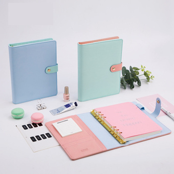 Agenda 2020 Notebooks Planner Kawaii Diary Journal Weekly Monthly A5 School Office Supplies Stationary Organizer Schedule