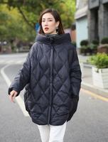 2019 Stylish Ladies Winter Jacket Heavy Coat Cotton Park Long Coat Winter Jacket Hood jacket