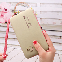For Samsung Galaxy S3 S4 S5 S6 S7 S6 Edge Plus Wallet Case Luxury Women Wallet