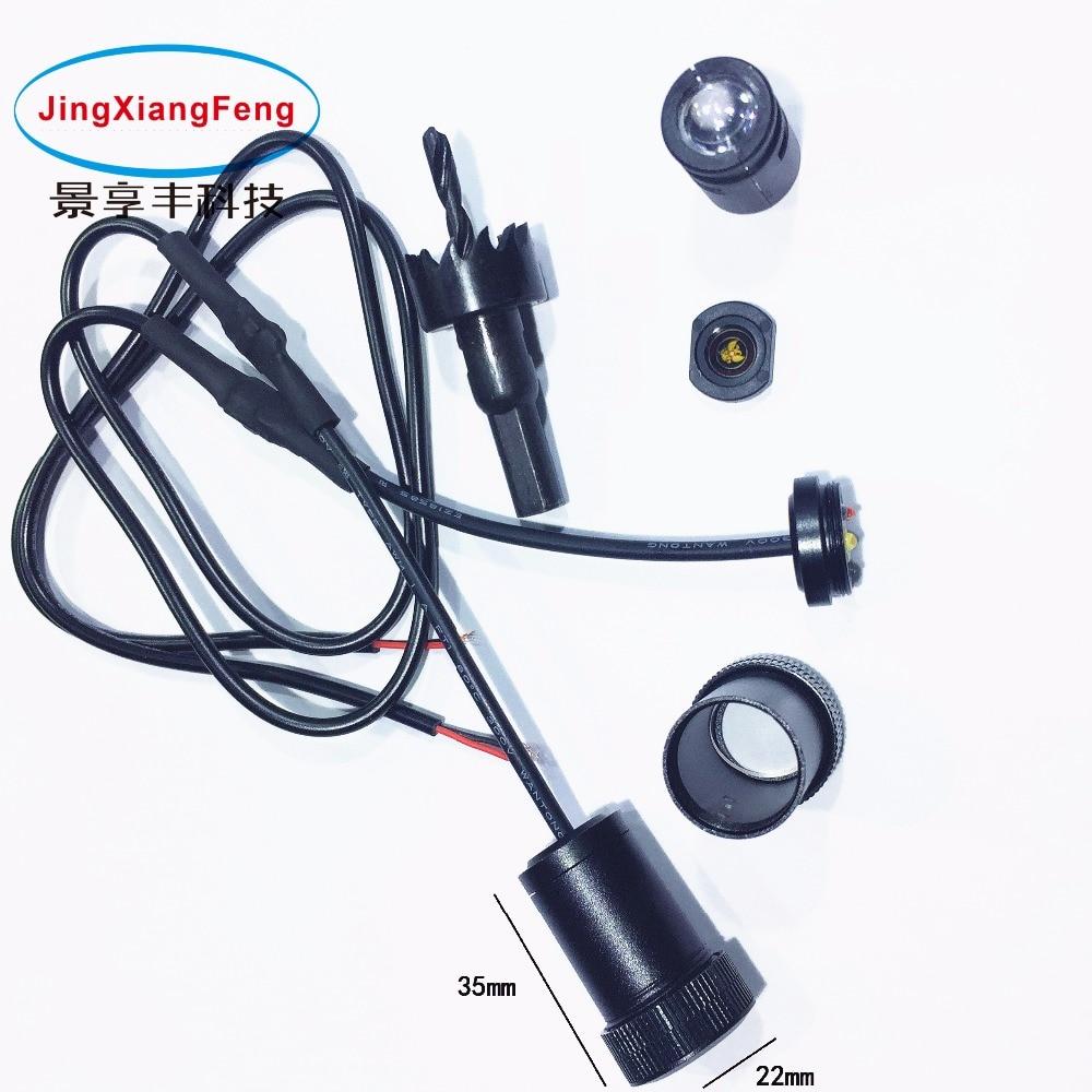 JXF Kasus Untuk Ford Mercedes Fiat Lincoln Renault Ssangyong LED - Lampu mobil - Foto 4