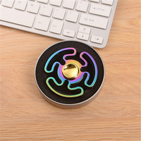 Colorful Fidget Hand Spinner Metal Triangle Zinc Alloy Puzzle Finger Toy EDC Focus Fidget Spinner ADHD