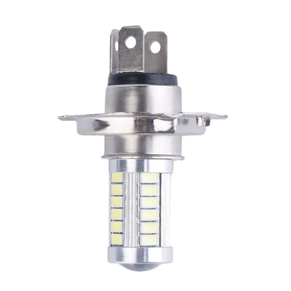 Original H4 33SMD 5630 LED Super Bright White Car Headlight Light Source DRL Daytime Traffic Lights Bulb Lamp LED 12V 8W Wagon