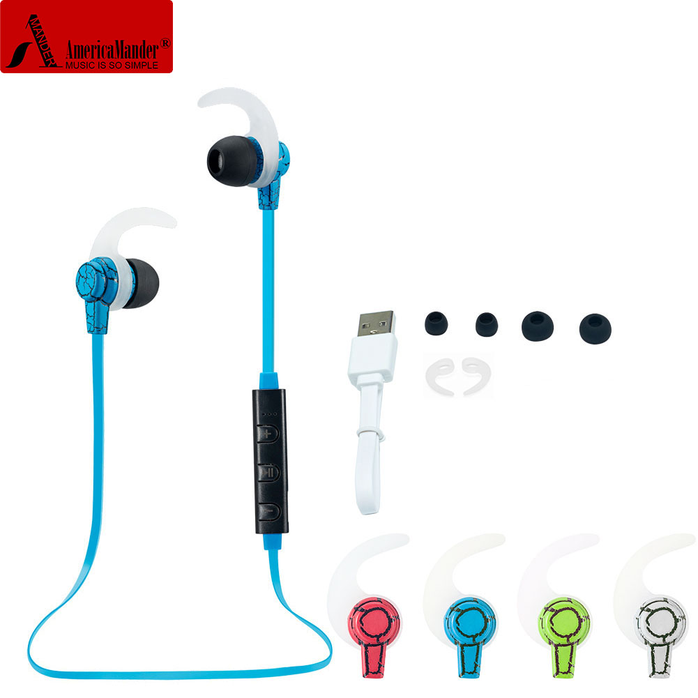 4.1 Wireless Bluetooth Earphone Headphone Bluetooth Headset Headphones Microphone AptX Sport Earphone for iPhone Android Phone remax rb s6 wireless bluetooth earphone headphones with microphone sport stereo bluetooth headset for iphone android phone