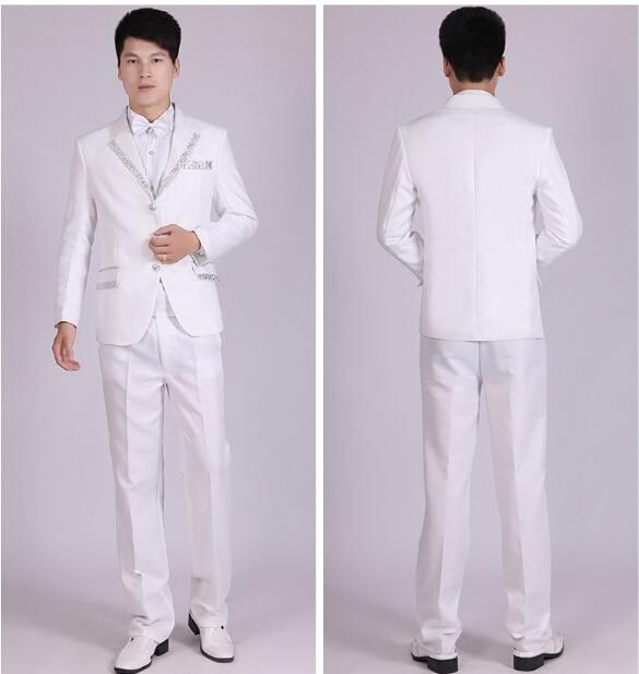 Traje blanco lino hombre – Vestidos baratos b2afc5412aa