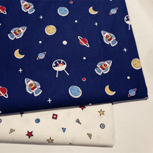 2018 New Prints Kids Cotton Twill Quilting Fabric by half meter for DIY Sewing Bed Sheet Dress making cotton fabric