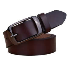 100% Genuine Cowskin Leather Fashion Belt for Women / Designer Casual Belt