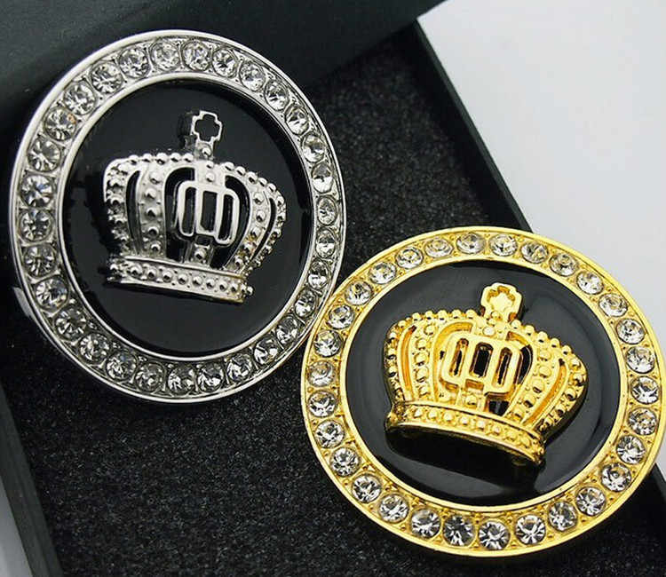 Autocollant de voiture style diamant personnalité Fine argent/or pour Volvo S40 S60 S70 S80 S90 V40 V60 V90 XC60 XC70 XC90