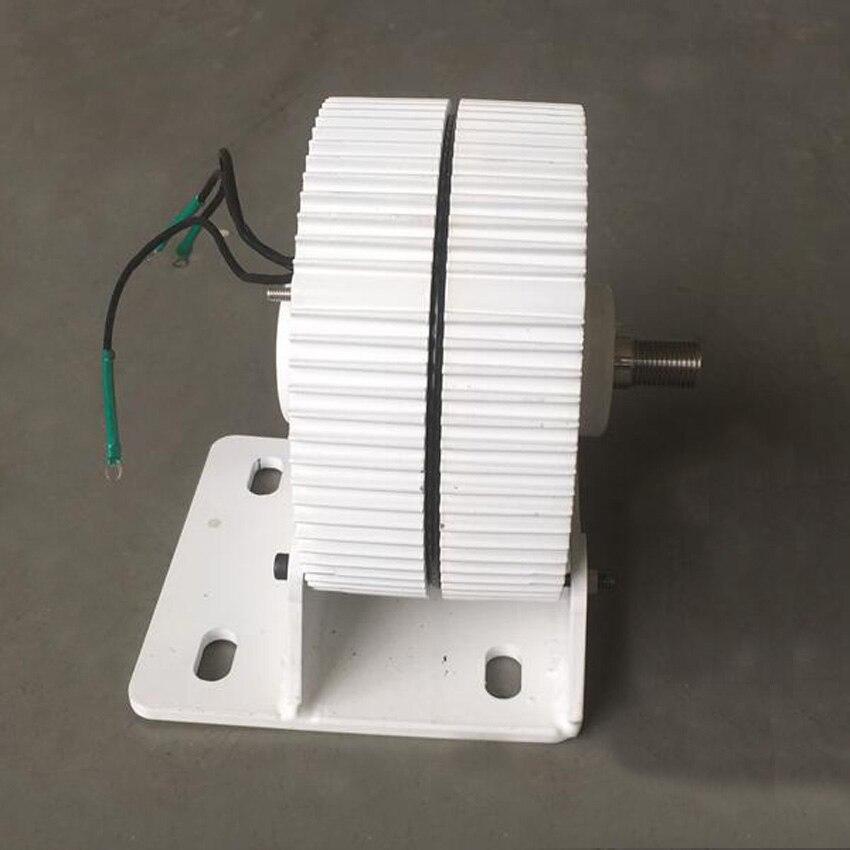 Générateur à courant alternatif 12 V 24 V 300 W générateur à aimant Permanent système d'éoliennes utilisation avec contrôleur de vent étanche 12 V/24 V - 6