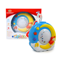 Hot Sales New Musical Projector Sleeping Bed Bell toy Early Educational Musical and LED lighting Projector gift For Baby Toys