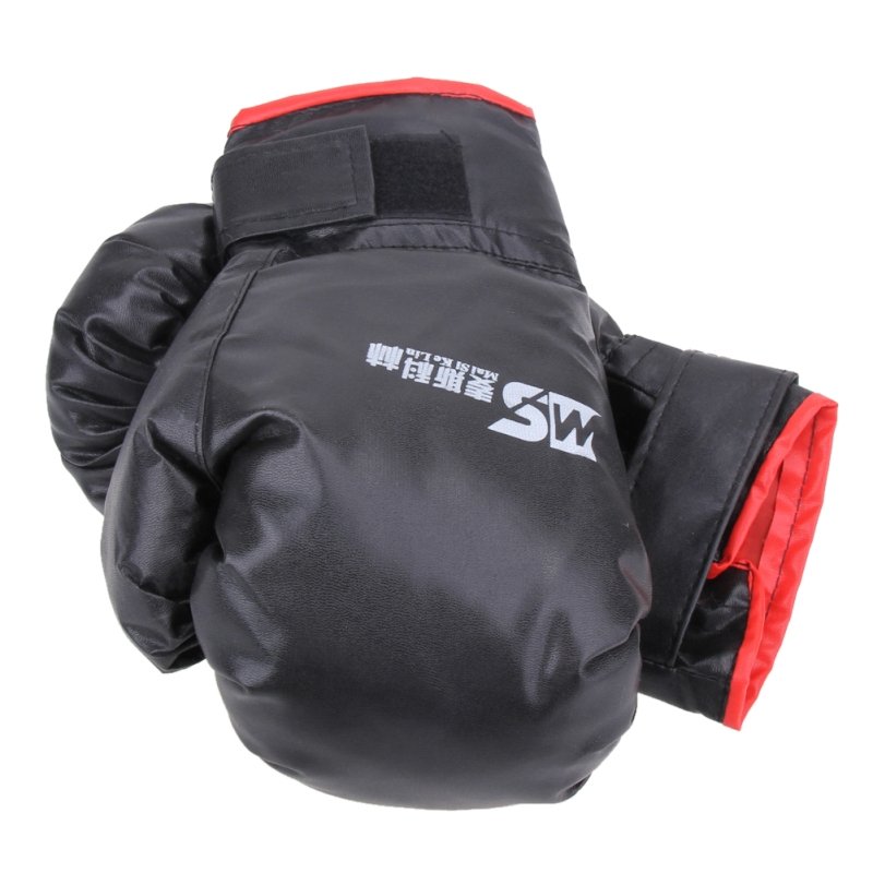 2 style Professional Boxing Gloves MMA Muay Thai Gym Punching Bag Breathable Half/Full Mitt Training Sparring Kick Boxing Gloves 21