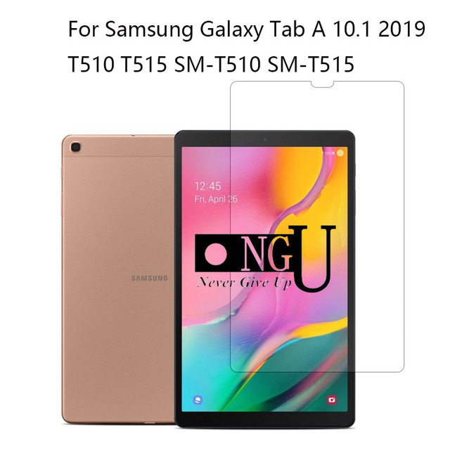Tempered Glass for Samsung Galaxy Tab A 10.1 2019 T510 T515 Screen Protector Film for SM-T510 SM-T515 Tablet Glass Guard Film 9H
