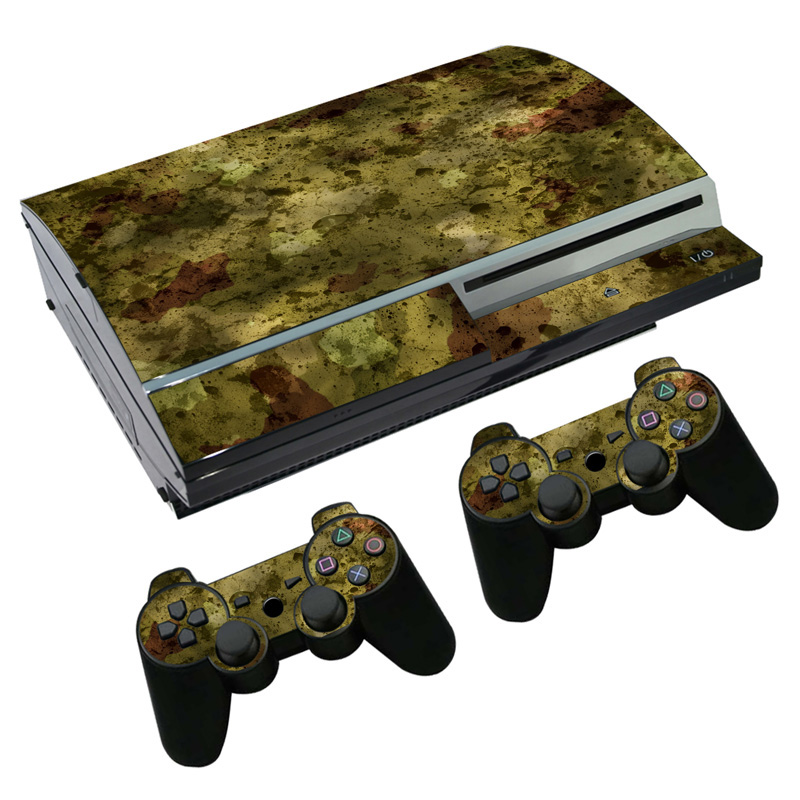 Free drop shipping New product protactive vinyl skin sticker for ps3 fat sticker console &controller #TN-p3-2103