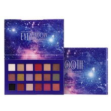 Professional Makeup Glitter Eyeshadow Pallete 18 Colors Shimmer Matte Eye shadow Palette NEW