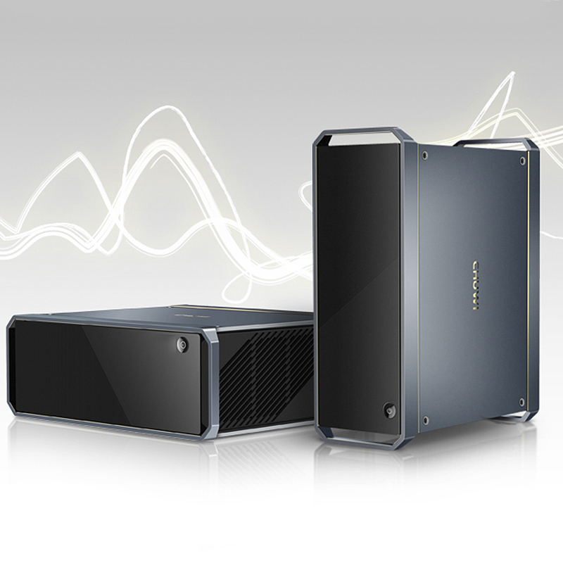 CHUWI GT TV Box Windows 10 jeu Mini PC 8 GB DDR3 256 GB SSD Intel HD graphique 5500 2.4 GHz + 5 GHz WiFi 1000 Mbps BT4.2