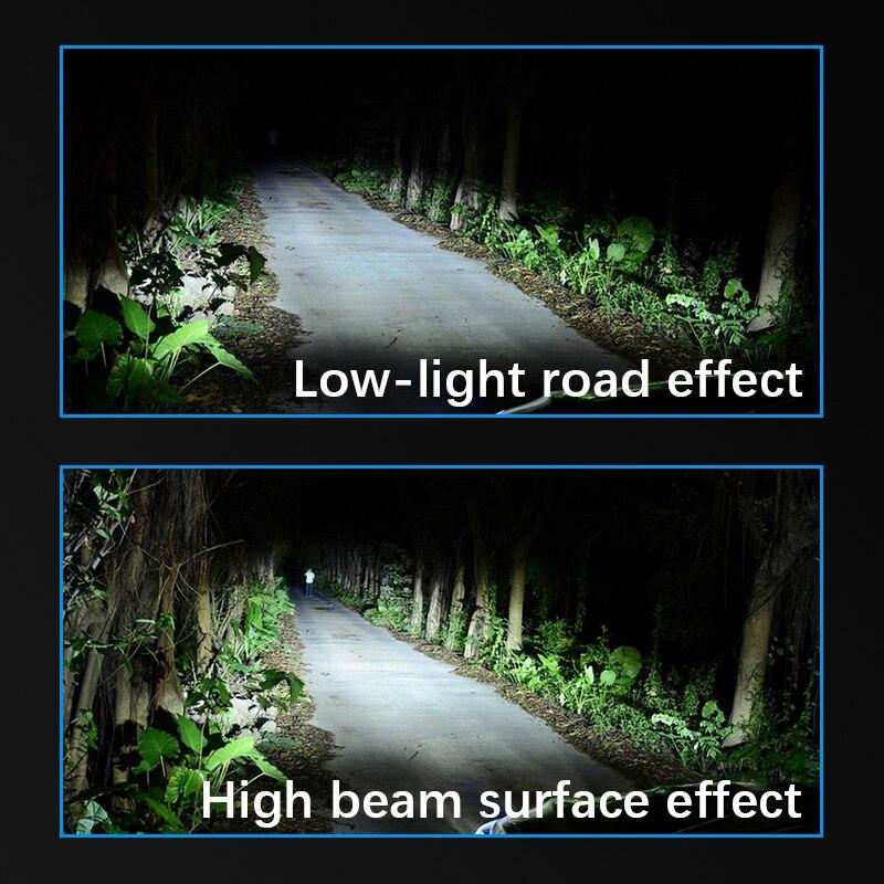 Car headlights H4 led Mini H7 lamp H8 LED H1 H3 H11 fog light HB3 9005 HB4 9006 12V 60W 6000LM in Car Headlight Bulbs LED from Automobiles Motorcycles