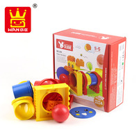 Wange Toys Building Blocks Puppy Tube Game Plastic Assembly Model Learning Educational Toys Baby Toys 15