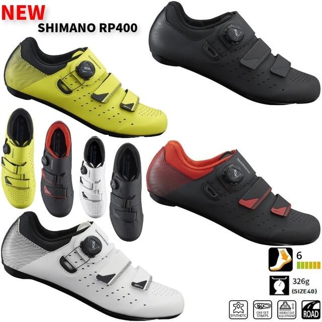 c4e6b3523 Shimano SH RP4 (RP400) zapatos de carretera de ventilación de carbono  zapatos de carretera