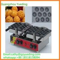 Hot sell walnut shape waffle machine|walnut cake making machine electric 20 pcs walnut egg cake waffle maker machine
