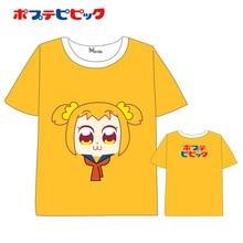 Anime POP TEAM EPIC Popuko Pipimi cartoon Men Women Short Sleeve Summer dress Cartoon T-shirt pop team epic  Tops Unisex t shirt