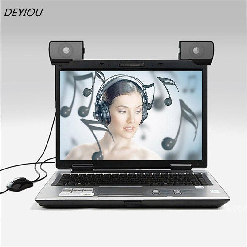 Deyiou 1 пара мини Портативный USB Multimedia компьютер Аудио Эхолот Динамик Бесплатная доставка nom16