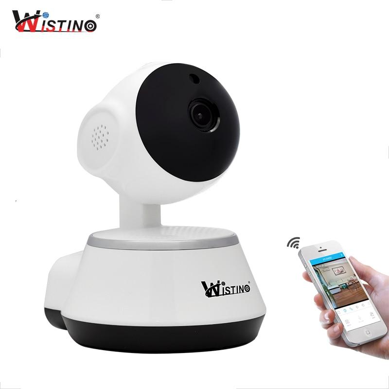 CCTV Wifi Baby Monitor 720P Mini Wireless IP Camera P2P Indoor Security Support Micro TF Card Smart home Night Vision Wistino цена