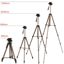 Big discount WT3130 Aluminum alloy Camera Tripod Stand with Rocker Arm for Canon For Nikon For Sony DSLR Camera Camcorder Load up to 2.5kg