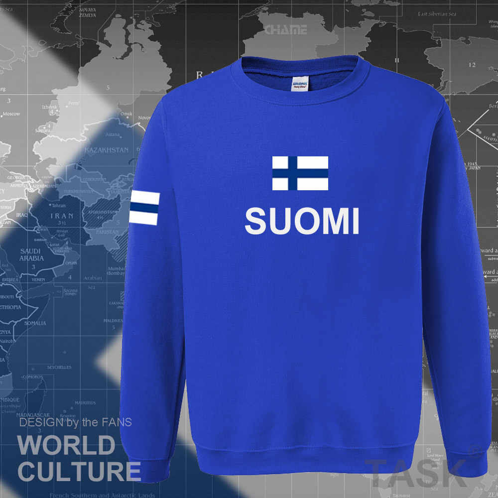 Finland hoodies men sweatshirt sweat new hip hop streetwear socceres jerseyes footballer tracksuit nation Finnish flag Finn FI