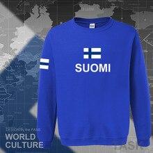 ฟินแลนด์ hoodies men sweatshirt hip hop streetwear socceres jerseyes นักฟุตบอล tracksuit nation ภาษาฟินนิชธง Finn FI