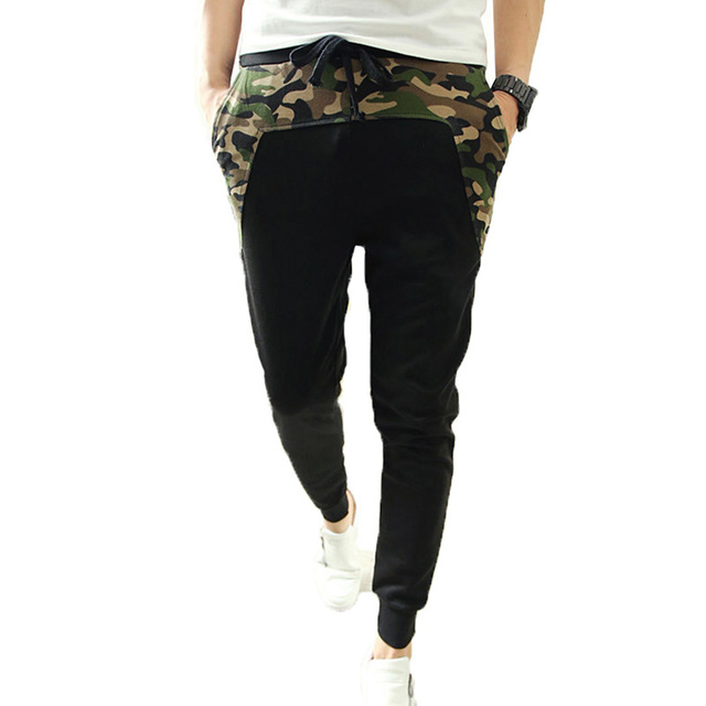 2017 Spring Summer Autumn Men's fashion Harem Pants, Male Casual Hip Hop Slacks  Sweatpants,  Joggers Trousers