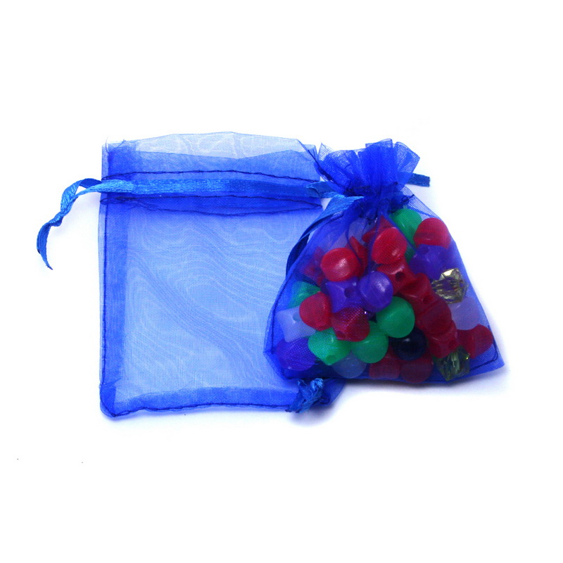 30pcs/lot 7x9cm 9x12cm 10x15cm 13x18cm Drawstring Organza Pouches Jewelry Packaging Bags Wedding Party Gift Bag Jewelry Pouch 4
