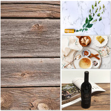INS Style 58*87cm Double sided brick wall plank cement wall glare grain food photography background cardboard(China)