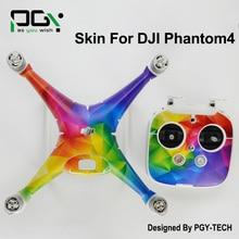 DJI Phantom 4 Sticker Drone parts accessories 3M PVC for phantom4 Waterproof Skin professional Quadcopter D3
