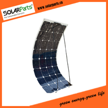 100W flexible and portable solar panel for 12V battery