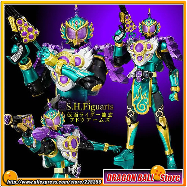 Japanese Masked Rider Gaim Original BANDAI Tamashii Nations SHF/ S.H.Figuarts Action Figure - Kamen Rider Ryugen Budou Arms