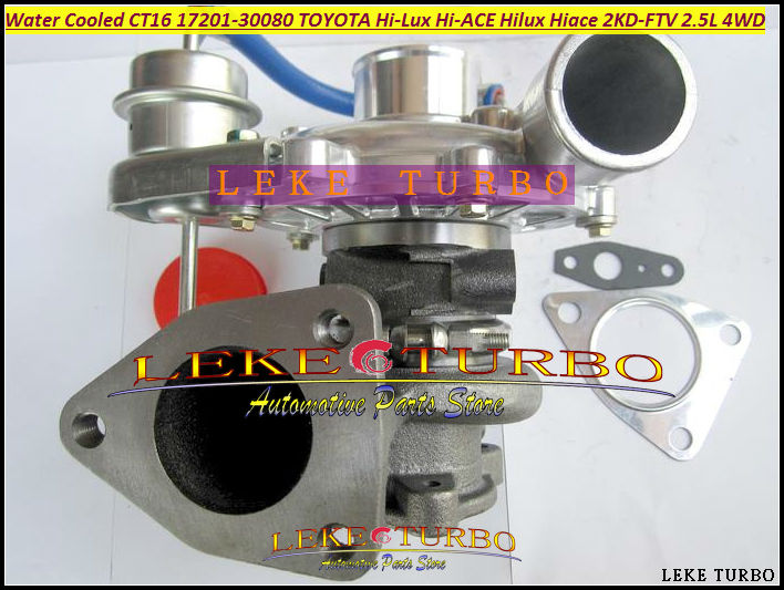 Free Ship CT16 17201 30080 17201 30080 1720130080 Water Cooled Turbo For TOYOTA Hi Lux Hi