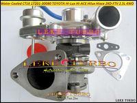 Bezpłatny statku CT16 17201 30080 17201 30080 1720130080 chłodzony wodą Turbo do TOYOTA Hi Lux Hi ACE hilux KDH 2KD 2KD FTV 2 KDFTV 2.5L w Wloty powietrza od Samochody i motocykle na