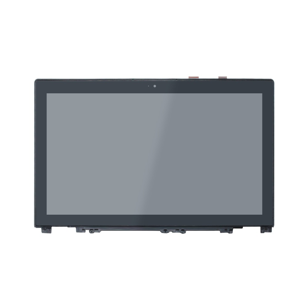 New For Lenovo IdeaPad U530 59402351 15.6 FHD Lcd Touch Screen Glass Digitizer Assembly With Frame new original lcd touch screen digitizer with frame for 2013 asus google nexus7 fhd 2nd gen k008 me571 lte 3g free shipping