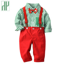 Children Boys clothes Autumn Winter Kids Gentleman Clothing Sets toddler boys clothing set christmas outfit two pieces