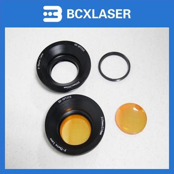 10.6um 110*110mm laser F-Theta scan lens 110 110