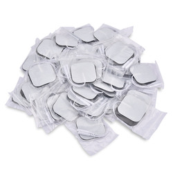 50pcs/100pcs Self Adhesive Replacement Tens Electrode Pads Square 4*4/5*5 cm Muscle Stimulator Electric Digital Machine Massager