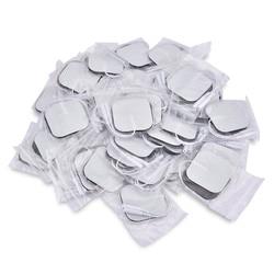 50pcs/100pcs Self Adhesive Replacement Tens Electrode Pads Square 4*4/5*5 cm Muscle Stimulator Electric Digital Machine Massager