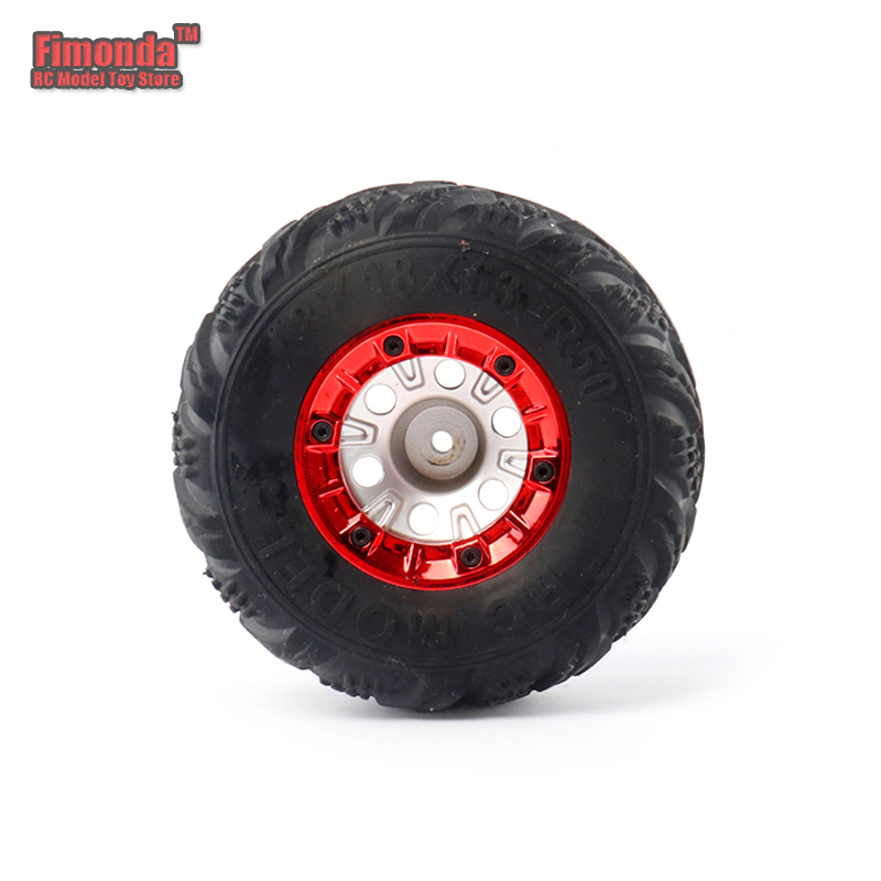 WLtoys 12428 12423 FY-03 02 01 Upgrade Metal Wheel Rims 1//12 2PCS RC Car Parts