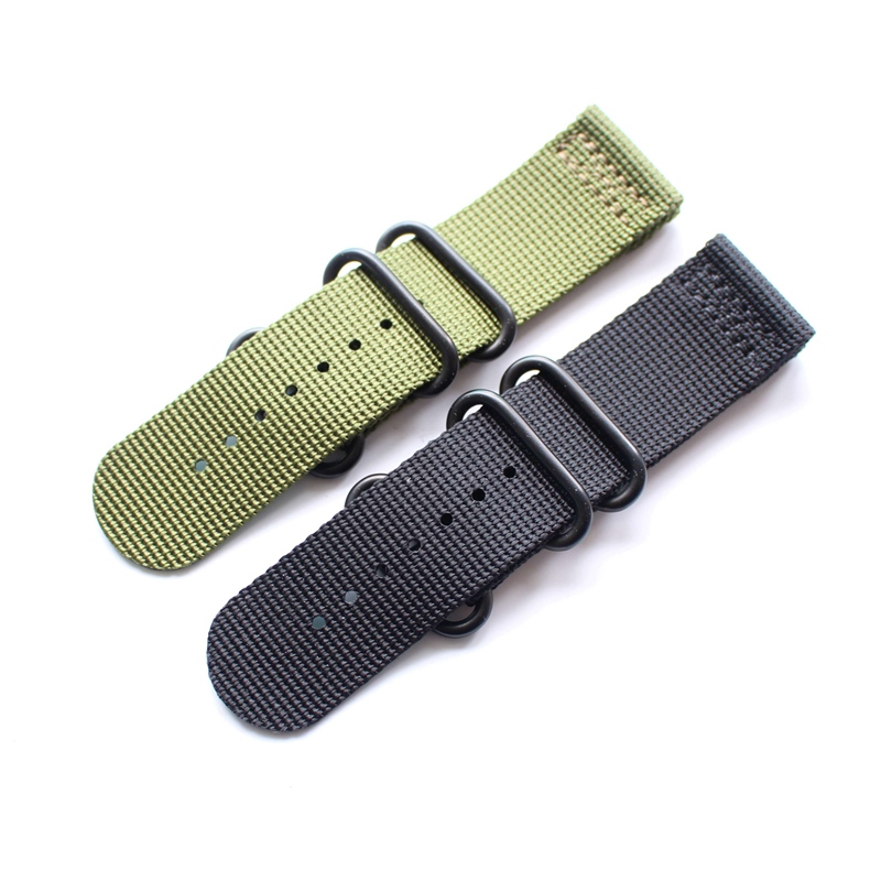 26mm Green Black Nylon Watchband Watch Strap Bracelet For Garmin Derek Fenix 3,4 Style To Choice jansin 22mm watchband for garmin fenix 5 easy fit silicone replacement band sports silicone wristband for forerunner 935 gps