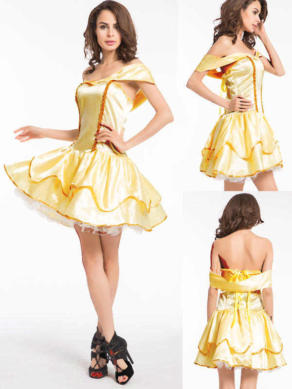 d7747575c18f2e Detail Feedback Questions about Free shipping Sexy Fancy Cinderella Snow  White Princess Fairy Costumes for Women Halloween Costume Beauty and the  Beast ...