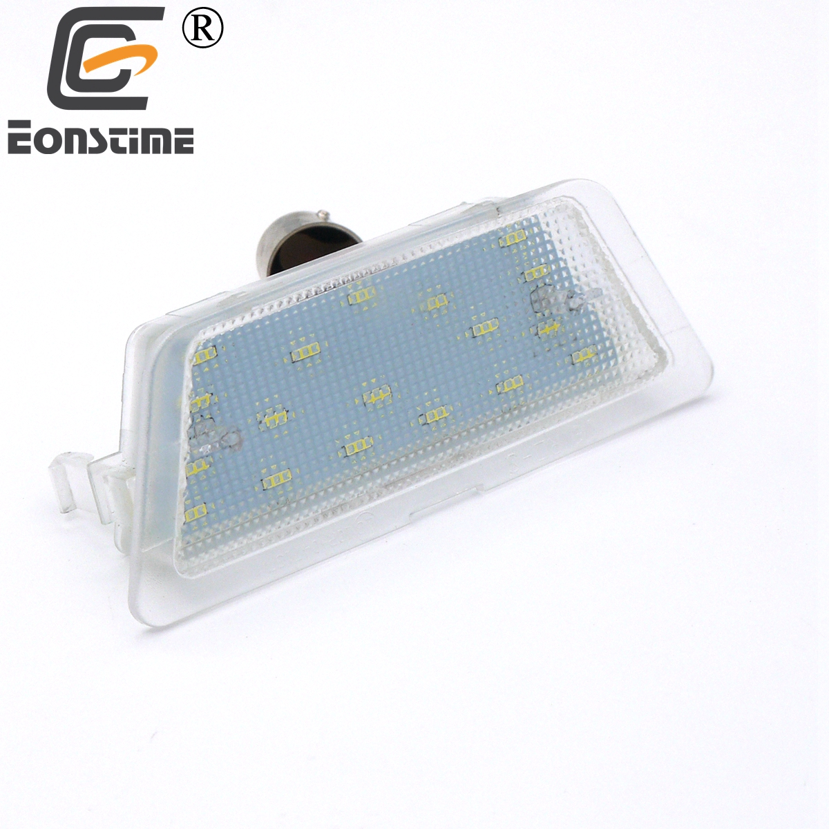 Eonstime 1pcs 12V Car Free Error 18LED License Plate Light For For Opel Astra G 1998-2004 Hatch Saloon