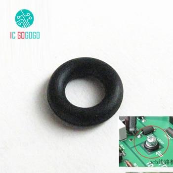 50pcs M3 M4 M5 M6 Audio Transformer PCB Circuit Board Shock Absorber Feet Pads 3456mm Vibration Absorption Rubber Ring Gasket circle