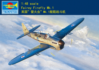 Trumpeter 05810 1:48 British firefly MK.1 carrier fighter  Assembly model