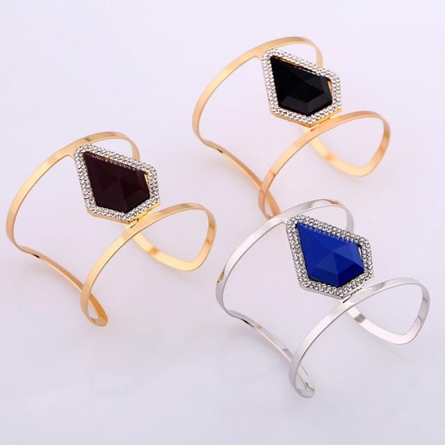Lzhlq 2020 новые модные геометрические браслеты из смолы женские